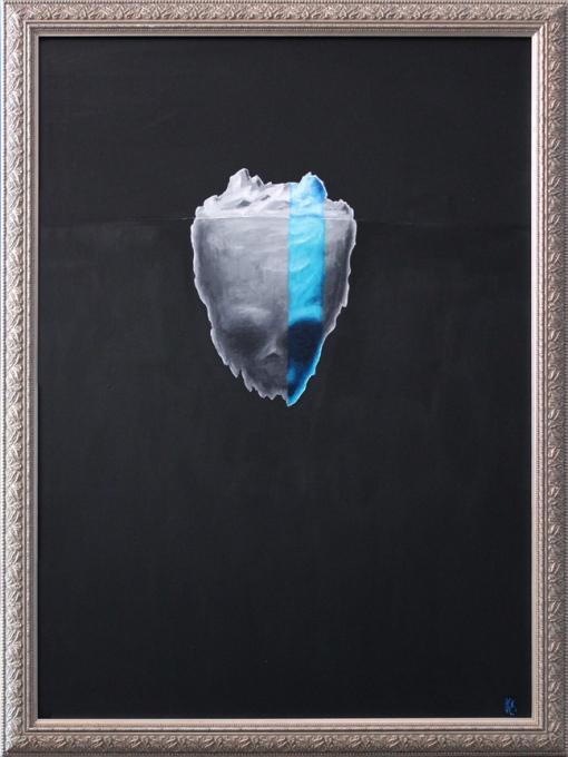 """20"""" x 26"""" Acrylic on Canvas"""