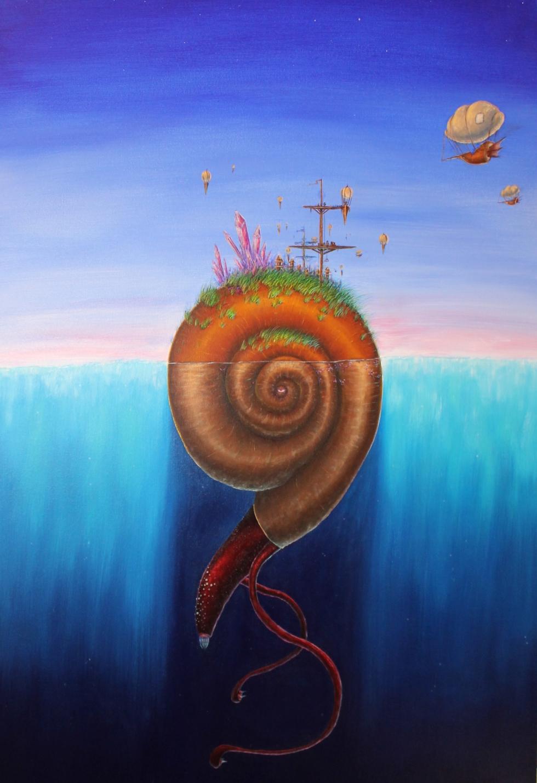 Acrylic on Canvas 36x48